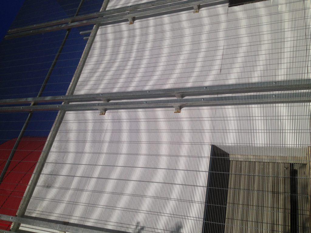 Custom mesh panels – Quickfence